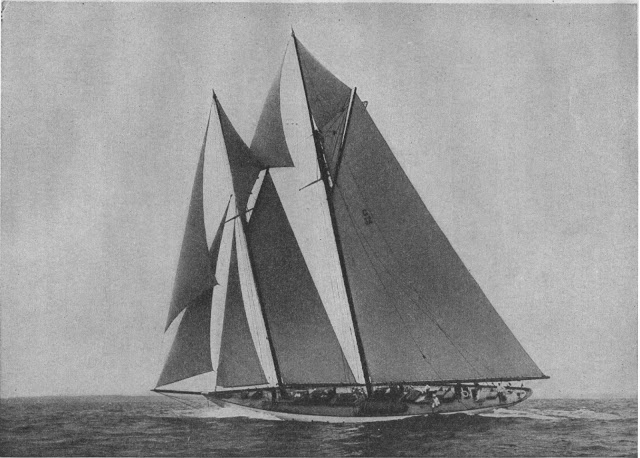 1928 Article The Grand Yachts Of The 1920 S Nautipedia