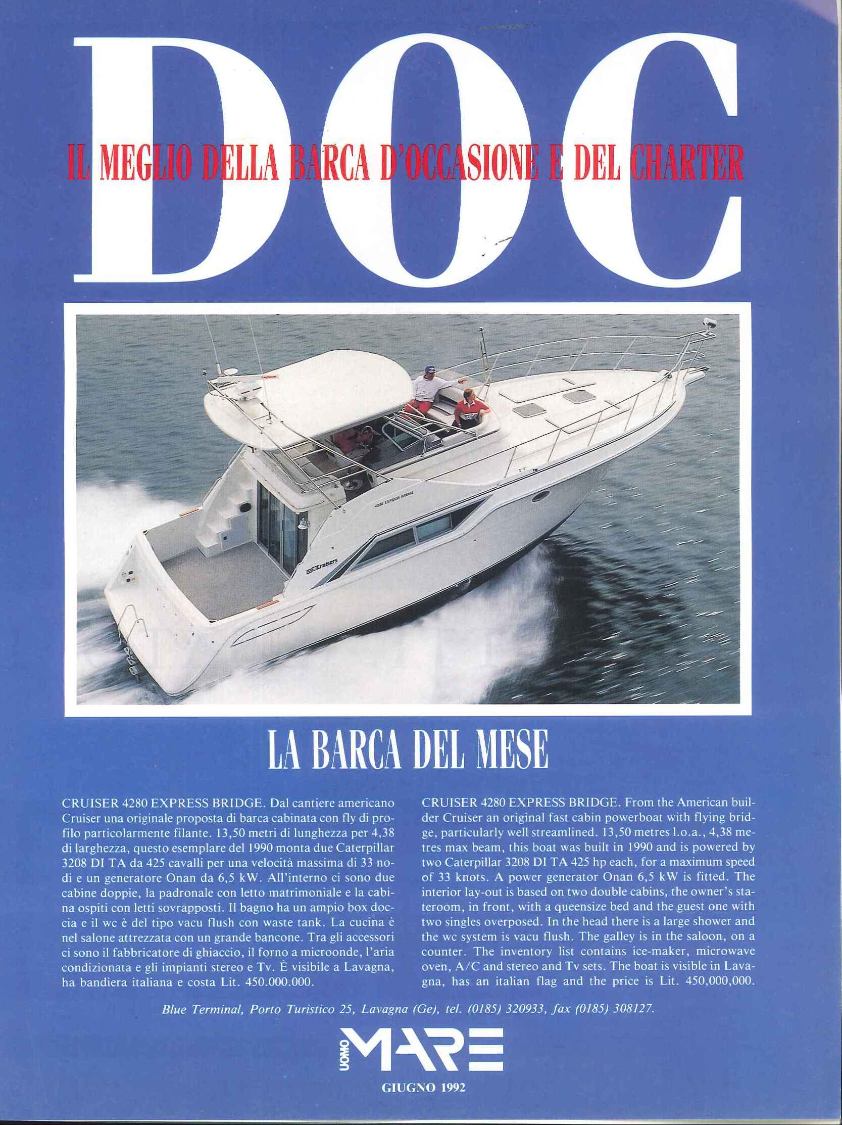 1992 06 ADV CRUISER 4280 EXPRESS BRIDGE Uomo Mare n°161 (22).jpg