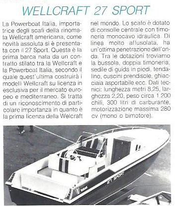 1984 11 PRESS WELLCRAFT 27 SPORT Barche.jpg