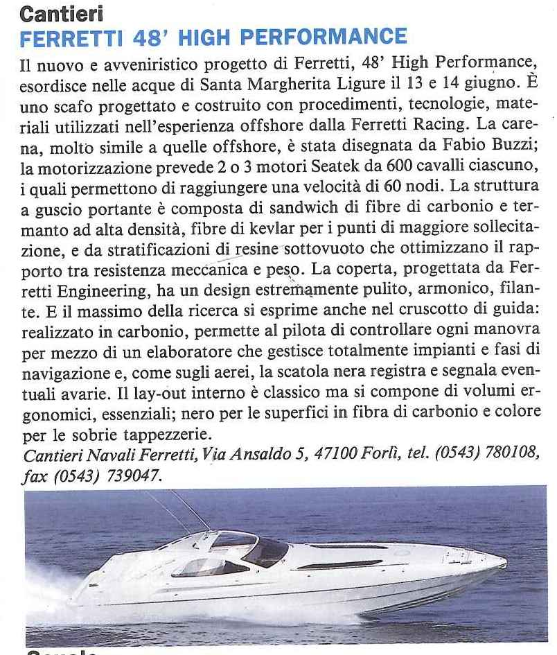 1992 06 PRESS FERRETTI 48 HIGH PERFORMANCE Uomo Mare n°161.jpg