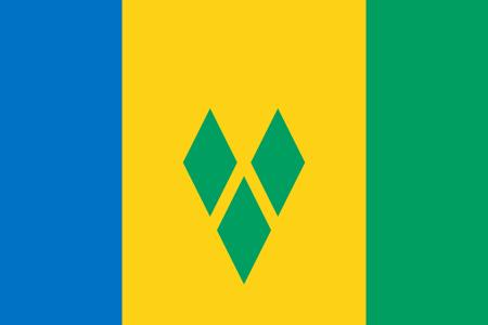 Flag of Saint Vincent and the Grenadines.JPG
