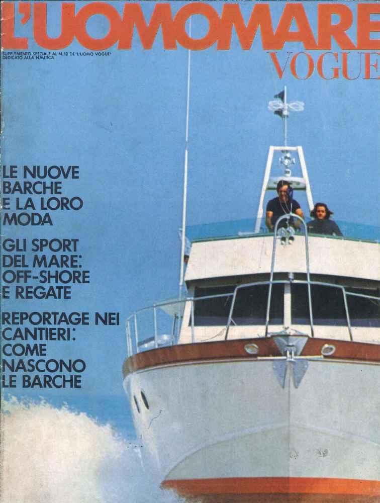 1971 12 Uomo Mare 01 Suppl al n°12 di Uomo Vogue cover.jpg