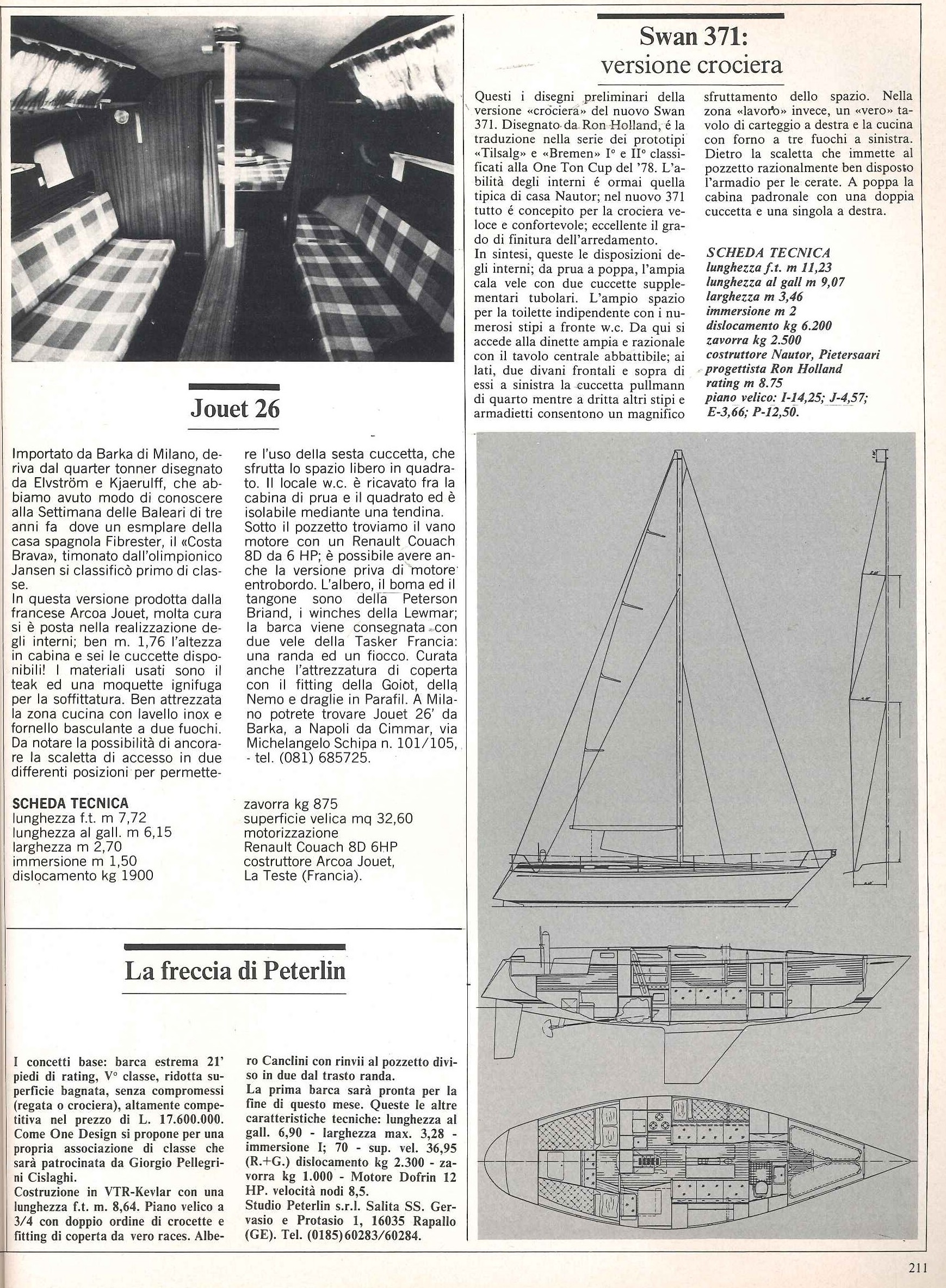 File:1979 04 PRESS JOUET 26; SWAN 371 e PETERLIN UOMO MARE N°32.jpg