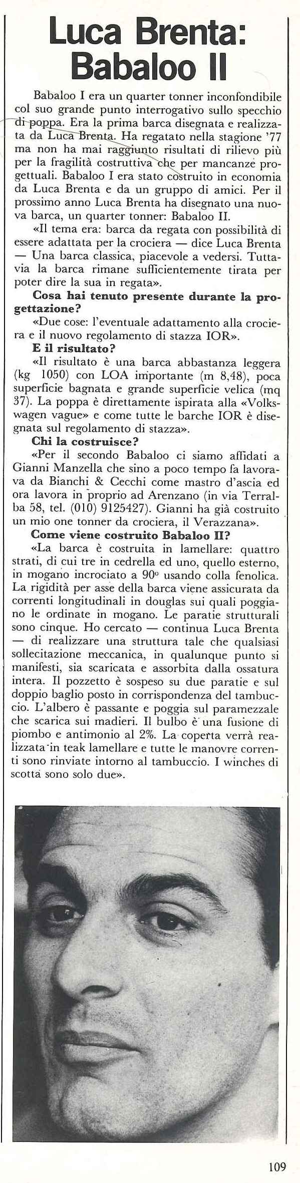 1979 01 PRESS LUCA BRENTA BABALOO II Uomomare30.jpg